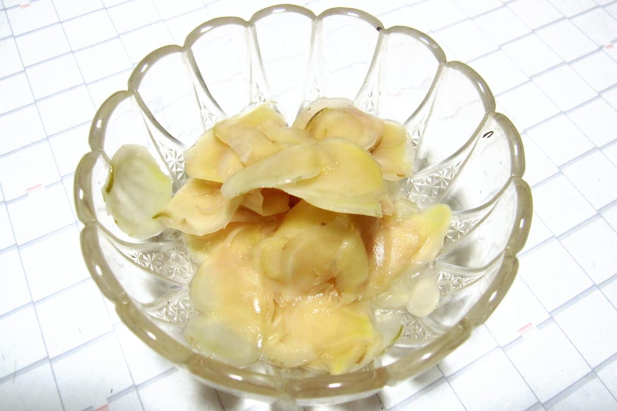 新生姜の食べ方いろいろ